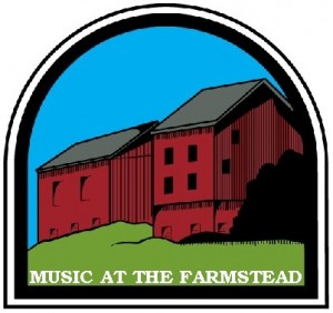 Farmstead Concerts Logo White Lettering